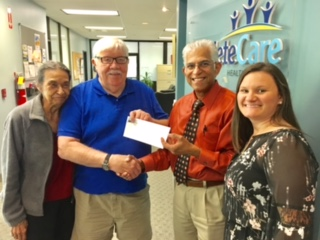 Greater Bridgeton Legends Donates Over $30,000 to CompleteCare Family Health Foundation